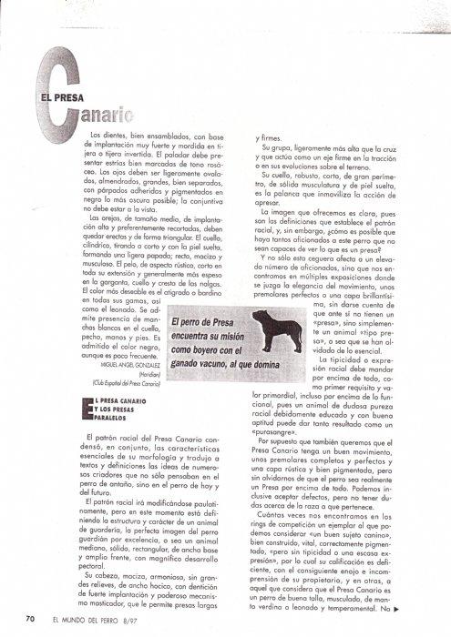 Articulos de 1997 la raza del mes de agosto15
