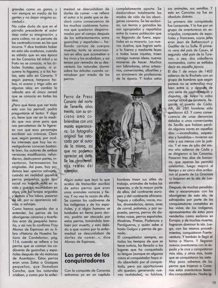 Los Perros en la Historia de Canarias 4