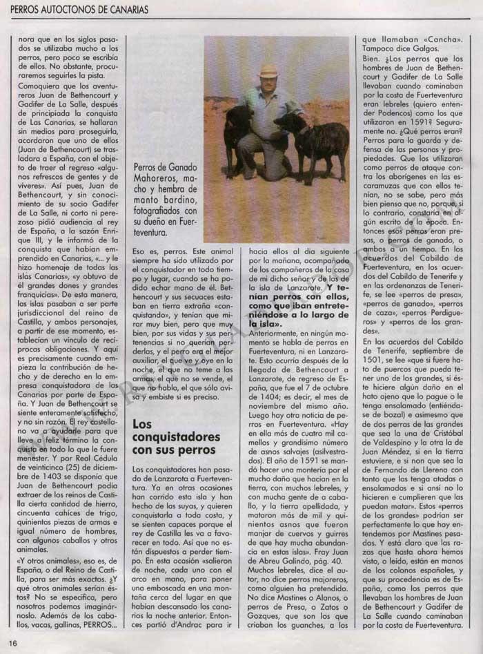 Los Perros en la Historia de Canarias 5