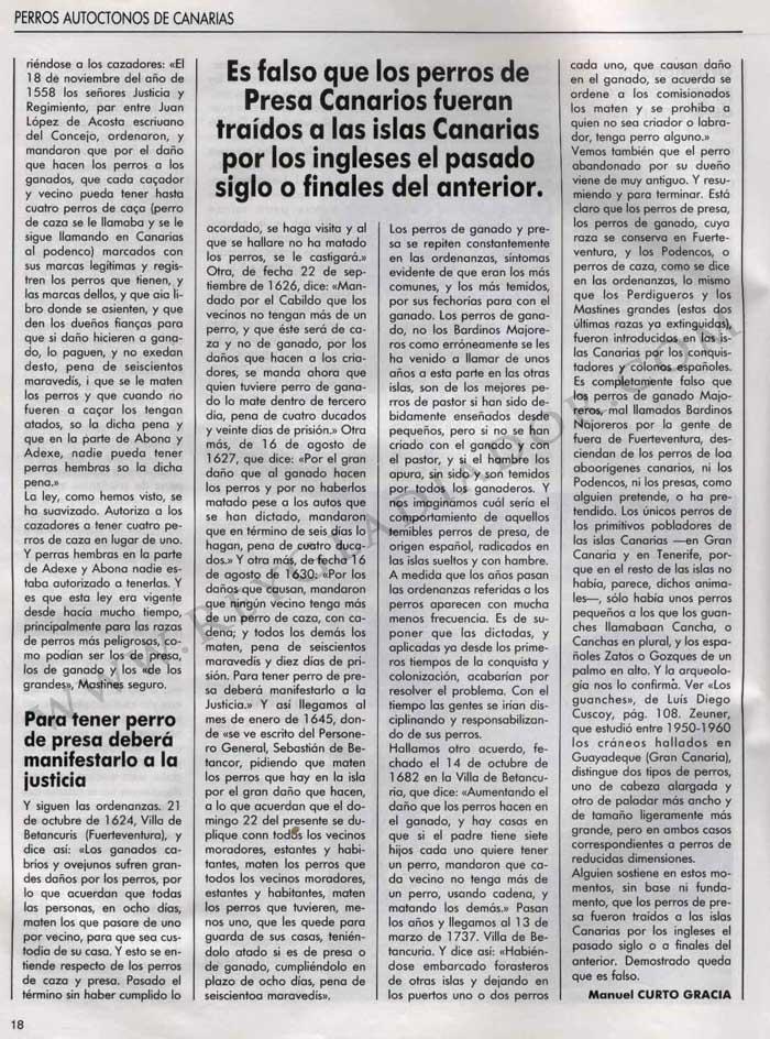 Los Perros en la Historia de Canarias 7