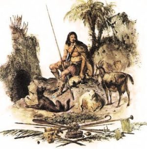 Primitive dogs of the Islands (Los primitivos perros de las Islas)