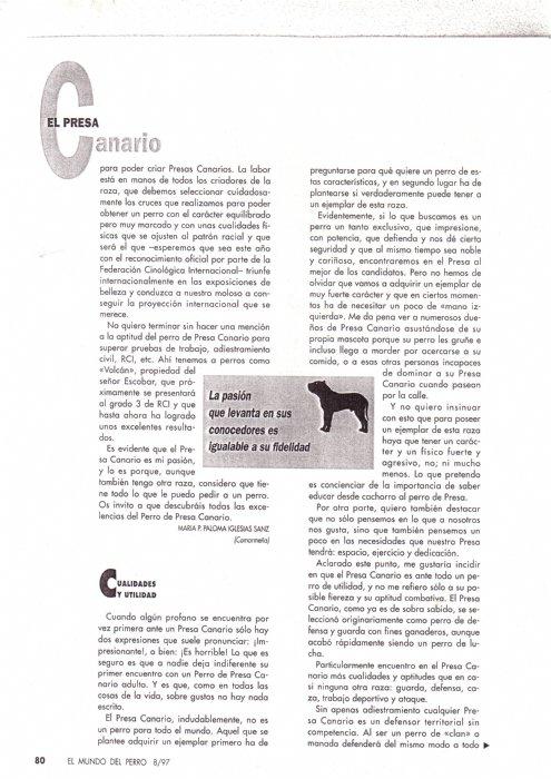 Articulos de 1997 la raza del mes de agosto-23